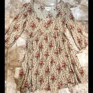 NWOT Ralph Lauren dress, rose print